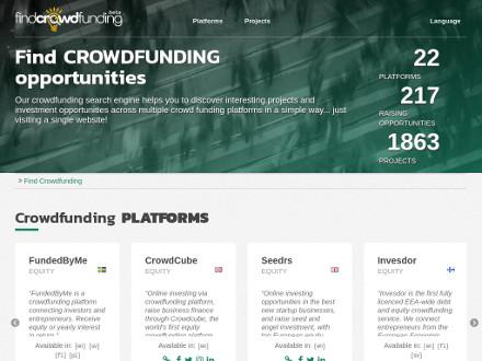 Find Crowdfunding